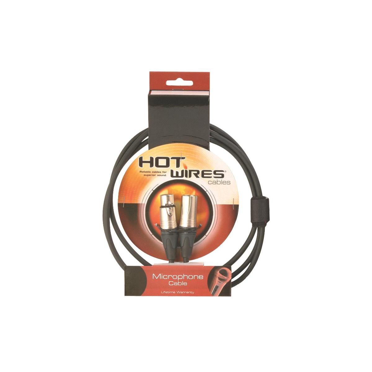 Microphone Cables with Neutrik Connectors