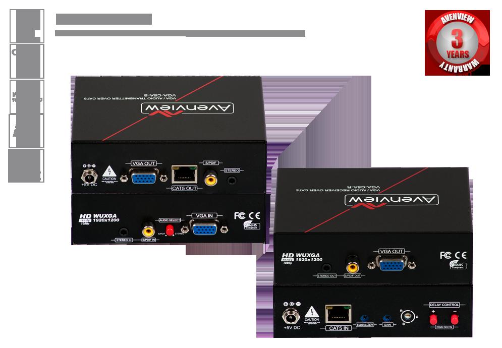 VGA over CAT5-6