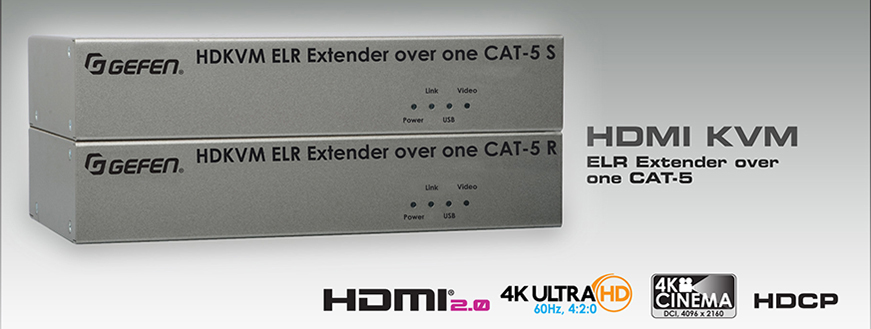 KVM Extenders for HDMI