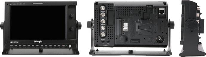 Broadcast Quad LCD