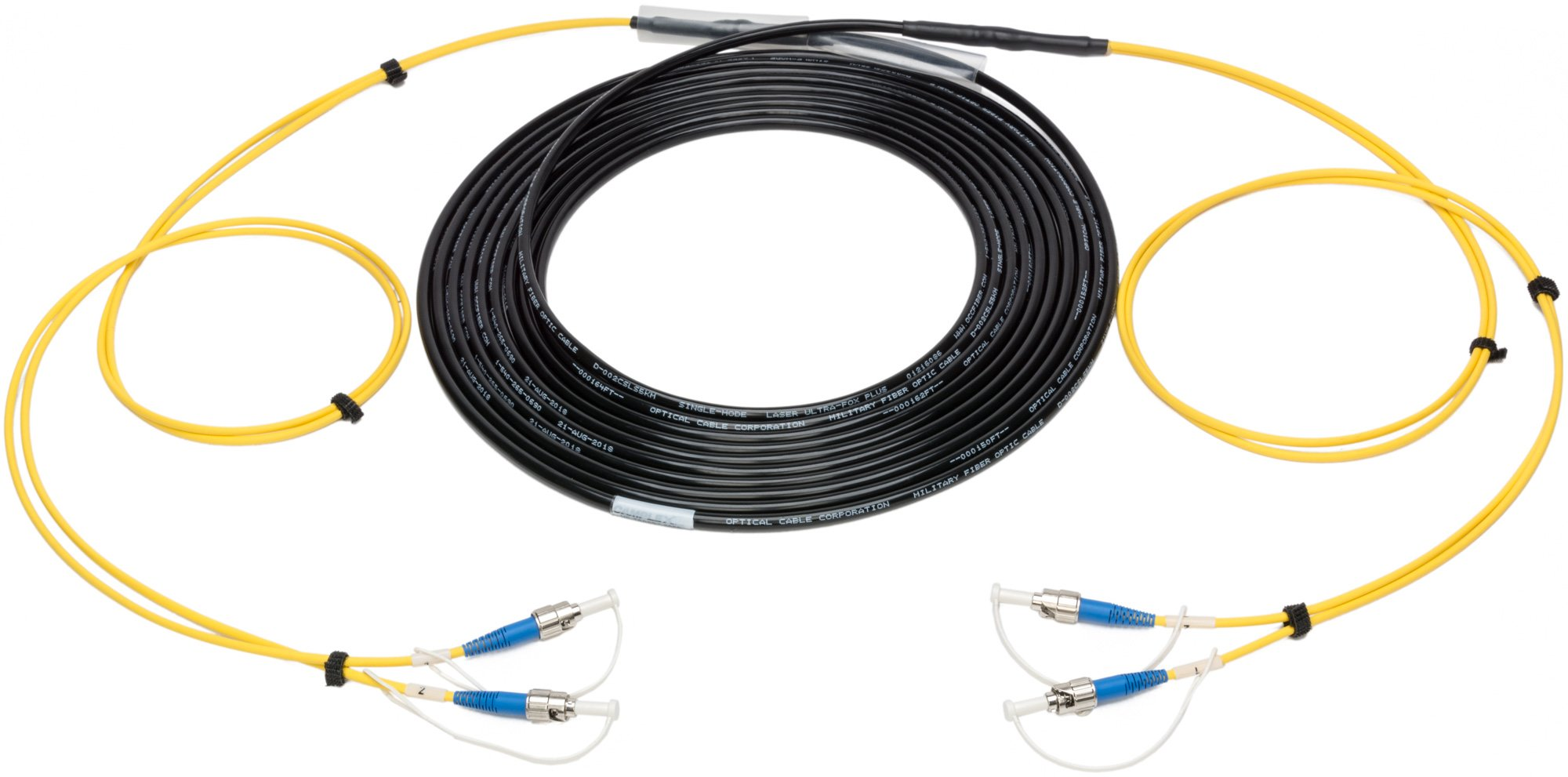 Tactical Fiber Optic Cables
