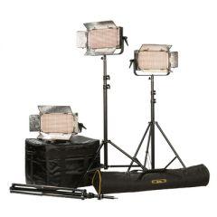 Ikan IB500-PLUS-3PT-KIT Kit w/ 3 x IB500 Lights, Yokes, & Gold...