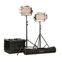 Ikan IB500-PLUS-2PT-KIT Kit w/ 2 x IB500 Lights, Yokes, & Gold...