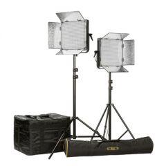 Ikan ID1000-PLUS-2PT-KIT Kit w/ 2 x ID1000-v2 Lights, Yokes, &...