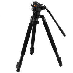 E-Image EG03TT Telescoping Video Tripod Quick Kit w/ GH03 Head...