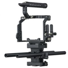Ikan STR-A7III STRATUS Complete Cage for Sony a7 III Series...