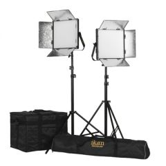 Ikan LW10-2PT-KIT Lyra 1 x 1 Daylight (5600K) 2-Point Soft Panel...