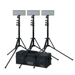 Ikan OYB240-3PT-KIT Onyx 30W Bi-Color 3-Point LED Light Kit w/ x...