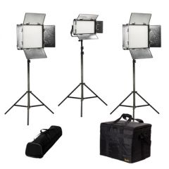 Ikan RW-2F1H Rayden Daylight 3-Point LED Light Kit w/ 2 x RW10 +...
