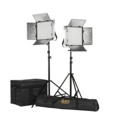 Ikan RW10-2PT-KIT Rayden 1 x 1 Daylight(5600K) 2-Point Panel LED...