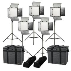 Ikan RW10-5PT-KIT Rayden Daylight 5-Point LED Light Kit w/ 5x...
