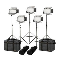 Ikan RW5-5PT-KIT Rayden Daylight 5-Point LED Light Kit w/ 5x...