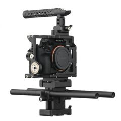 Ikan STR-A7II STRATUS Complete Cage for Sony a7 II Series...