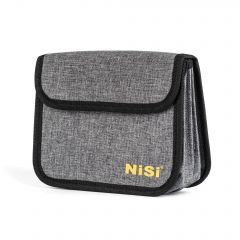 NiSi 100mm Filter Pouch for 4 Filters (Holds 4 Filters 100x100mm or 100x150mm) - NIP-100-4CASE