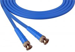 Laird Digital Cinema 1505-B-B-100-BE Laird  Belden 1505A SDI/HDTV RG59 BNC Cable - 100 Foot Blue