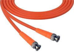 Laird Digital Cinema 1505-B-B-125-OE Laird  Belden 1505A SDI/HDTV RG59 BNC Cable - 125 Foot Orange