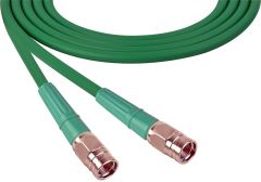 Laird Digital Cinema 1505-F-F-100-GN Laird  Belden 1505A F-Male to F-Male RG59 Digital Coax Cable - 100 Foot Green