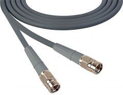 Laird Digital Cinema 1505-F-F-100-GY Laird  Belden 1505A F-Male to F-Male RG59 Digital Coax Cable - 100 Foot Grey