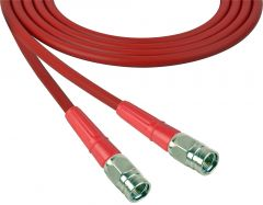 Laird Digital Cinema 1505-F-F-100-RD Laird  Belden 1505A F-Male to F-Male RG59 Digital Coax Cable - 100 Foot Red