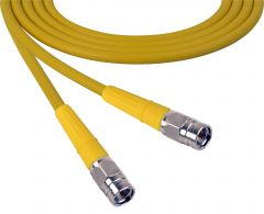 Laird Digital Cinema 1505-F-F-100-YW Laird Belden 1505A F-Male to F-Male RG59 Digital Coax Cable - 100 Foot Yellow