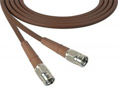 Laird Digital Cinema 1505-F-F-150-BN Laird Belden 1505A F-Male to F-Male RG59 Digital Coax Cable - 150 Foot Brown