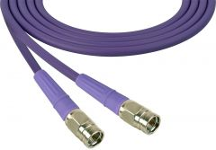 Laird Digital Cinema 1505-F-F-150-PE Laird Belden 1505A F-Male to F-Male RG59 Digital Coax Cable - 150 Foot Purple
