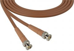 Laird Digital Cinema 1694-B-B-100-BN Laird  Belden 1694A SDI/HDTV RG6 BNC Cable - 100 Foot Brown