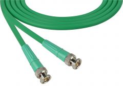 Laird Digital Cinema 1694-B-B-100-GN Laird  Belden 1694A SDI/HDTV RG6 BNC Cable - 100 Foot Green