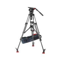 Sachtler 1863S2 Video 18 S2 Fluid Head & ENG 2 CF Tripod System...