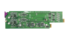 Miranda ADA-1023-3SRP Single rear connector panel