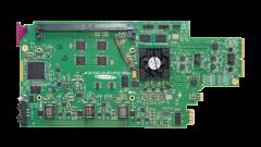 Miranda AMX-3981-75D-3SRP Single rear connector panel, 75 ohm...