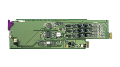 Miranda DDA-1113-3SRP Single rear connector panel w/ 7 outs