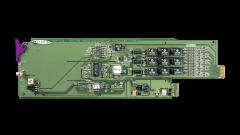 Miranda DDA-1113-SRP Single rear connector panel w/ 4 outs