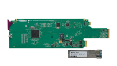Miranda FIO-1901-RT-SRP Single rear connector panel for...