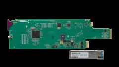 Miranda FIO-1901-RT-SRP-3RU Single rear connector panel for...