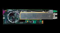 Miranda FLO-1601-3RU L-band to fiber transmitter