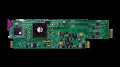 Miranda HRS-1801-QRP-R-3RU Quadruple rear connector panel w/...