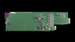 Miranda SDA-1102-SRP Single rear connector panel w/ 4 outs