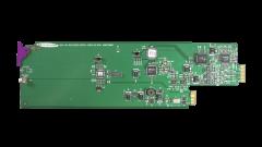 Miranda SDA-1142-SRP Single rear connector panel w/ 2 SDI outs