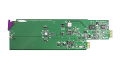 Miranda SDA-1142-DRP Double rear connector panel