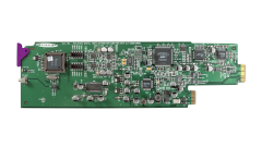 Miranda SDA-1162-3SRP Single rear connector panel w/ 3 SDI outs