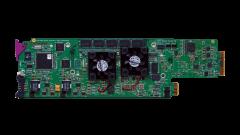 Miranda XVP-1801-DC-3RU HD/SD downconverter/frame sync/ARC