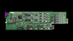Miranda ADC-1722-75-SRP-3RU Single rear connector panel, 75 ohm