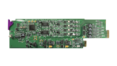 Miranda ADC-1722-110-SRP-3RU Single rear connector panel, 110...