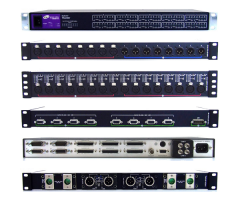 Telecast TNR-BC-AES-TX4 Thunder Bolt card w/ 8-ch  AES audio in,...