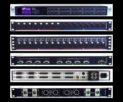 Telecast TNR-BC-AES-RX4 Thunder Bolt card w/ 8-ch  AES audio...