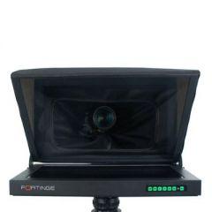 Fortinge 21'' Studio Prompter Set with HDMI, VGA, BNC, SDI Input (High Brightness)