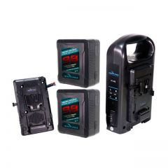 Indipro Tools 2MSBMUKT Indipro Dual 98Wh Micro-Series Blackmagic URSA Kit