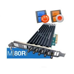 Softron Media Services 3.AM80Ri Softron M80Ri (8 Channels Ingest or Replay, Dongle Included)