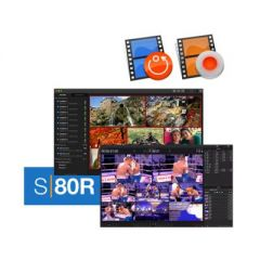 Softron Media Services 3.AS80R Softron S80R (8 Channels Ingest or Replay, Dongle Included)